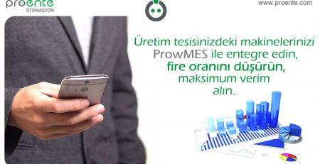 Üretimde fire oranını düşürmek için ProwMES teknolojisinden faydalanın.