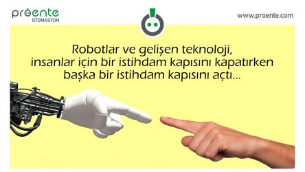robotlar ve istihdam