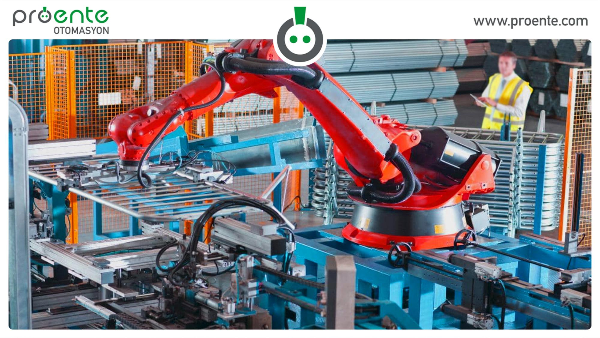 robotik üretim, robot üretimi,