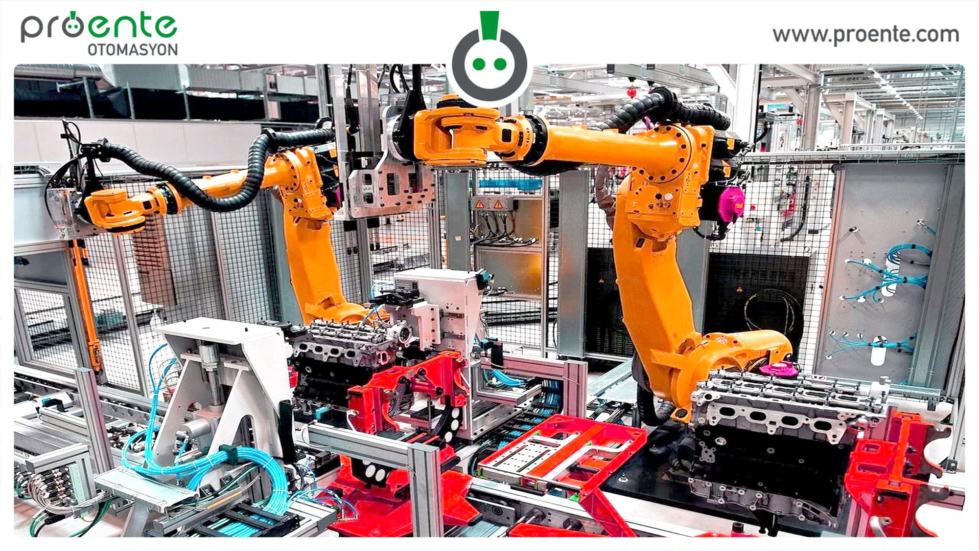 universal robot, universal robot türkiye, universal robot örnekleri,