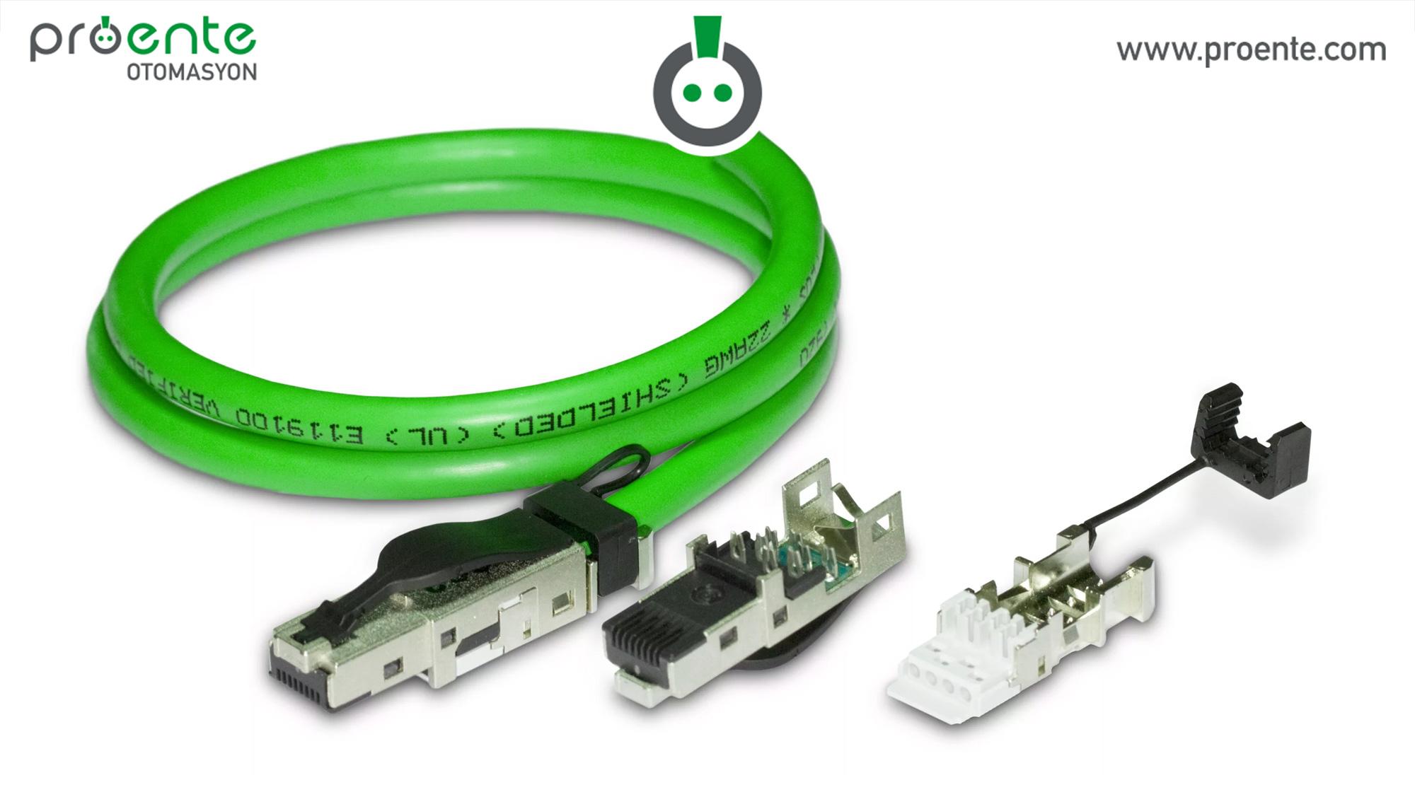 profinet, profinet kablo bağlantısı, profinet kablo,